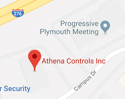 Directions to Athena Controls